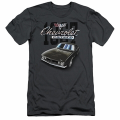 Chevy Slim Fit Shirt Chevrolet Classic Camaro Charcoal T-Shirt