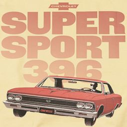 Chevy Super Sport 396 Shirts