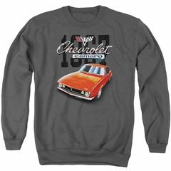Chevy Sweatshirt Chevrolet 1967 Red Classic Camaro Adult Charcoal Sweat Shirt