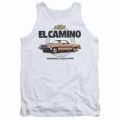 Chevy Tank Top Also A Truck White Tanktop