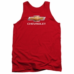 Chevy Tank Top Bow Tie Red Tanktop