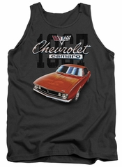 Chevy Tank Top Chevrolet 1967 Red Classic Camaro Charcoal Tanktop