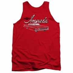 Chevy Tank Top Impala Red Tanktop
