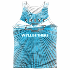 Chevy Tank Top We'll Be There Sublimation Tanktop
