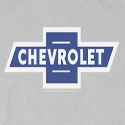 Chevy Vintage White Border Bowtie T-shirts