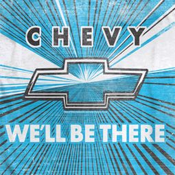 Chevy We'll Be There Sublimation Shirts