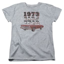 Chevy Womens Shirt Car Of The Year Sports Grey T-Shirt