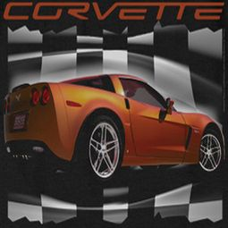Chevy ZO6 checkered Shirts