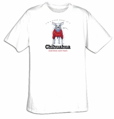 Chihuahua T-shirt I'm a Proud Owner of a Chihuahua Tee