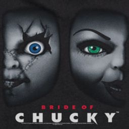Child's Play Bride Of Chucky Logo Shirts