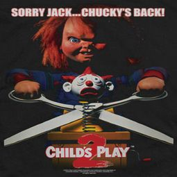 Child's Play He's Back Shirts