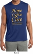 Childhood Cancer Awareness Hope Love Cure Dry Wicking Sleeveless Shirt