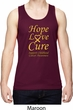 Childhood Cancer Awareness Hope Love Cure Dry Wicking Tank Top