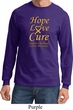 Childhood Cancer Awareness Hope Love Cure Long Sleeve