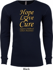 Childhood Cancer Awareness Hope Love Cure Thermal