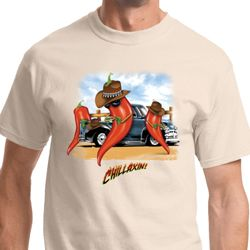 Chillaxin Peppers Shirts