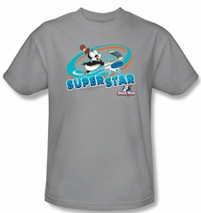 Chilly Willy Kids T-shirt TV Show Slap Shot Silver Tee Shirt Youth