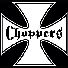 Chopper T-shirt - Cross Biker Tee