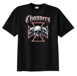 Chopper T-shirt - Skull Tee