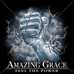 Christian Shirt - Amazing Grace Adult T-shirt