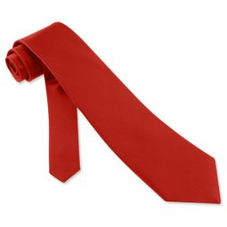 Christmas Red Silk Tie Necktie � Men�s Holiday Neck Tie