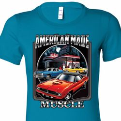 Chrysler American Made Muscle Ladies Shirts