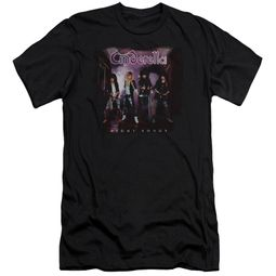 Cinderella Shirt Slim Fit Night Songs Black T-Shirt