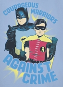 Classic Batman Against Crime Shirts