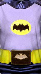 Classic Batman Costume Sublimation Shirts