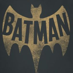 Classic Batman Distressed Logo Shirts
