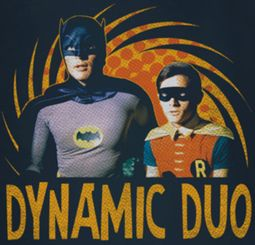 Classic Batman Dynamic Duo Shirts