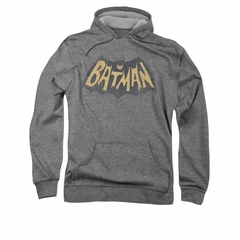 Classic Batman Hoodie Show Logo Athletic Heather Sweatshirt Hoody