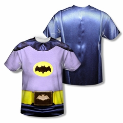 Classic Batman Shirt Batman Costume Sublimation Youth Shirt