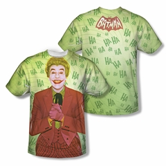 Classic Batman Shirt Joker Sublimation Shirt Front/Back Print