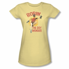 Classic Batman Shirt Juniors Boy Wonder Banana T-Shirt