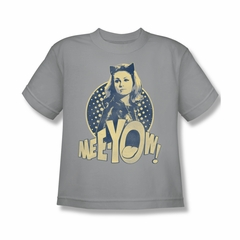 Classic Batman Shirt Kids Meeyow Silver T-Shirt