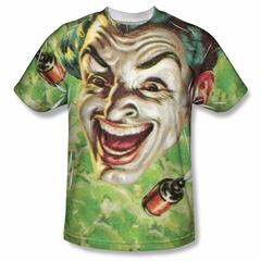 Classic Batman Shirt Laughing Gas Sublimation Shirt