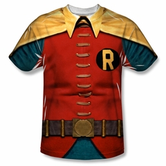 Classic Batman Shirt Robin Costume Sublimation Shirt