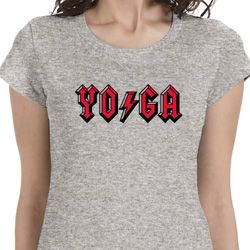 Classic Rock Yoga Ladies Yoga Shirts