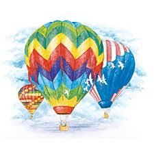 Colorful Ballooning T-shirt