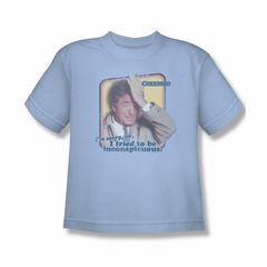 Columbo Inconspicuous Shirt Kids Shirt Youth Tee T-Shirt