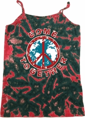 Come Together Ladies Tie Dye Camisole Tank Top