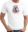 COME TOGETHER Peace Sign Adult T-shirt