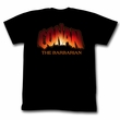 Conan Shirt New Logo Adult Black Tee T-Shirt