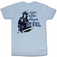 Conan the Barbarian Shirt Steel Light Bliue T-Shirt