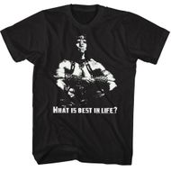Conan the Barbarian Shirt What Is Best In Life? Black T-Shirt