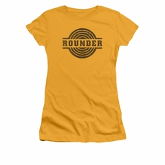 Concord Music Group Shirt Juniors Rounder Distressed Gold T-Shirt