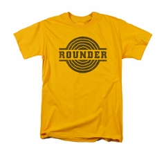 Concord Music Group Shirt Rounder Distressed Gold T-Shirt