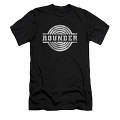 Concord Music Group Shirt Slim Fit Rounder Retro Black T-Shirt