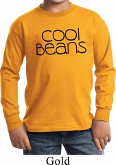 Cool Beans Kids Long Sleeve Shirt